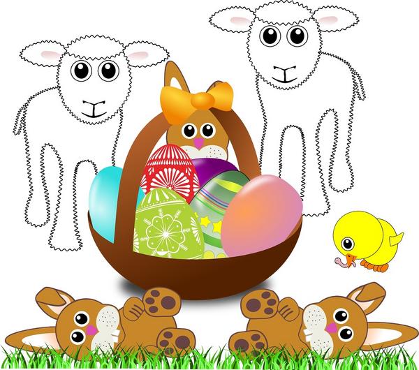 paschal lamb pixabay