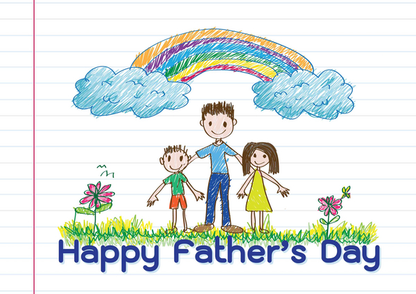 fathers day tekst COLOURBOX10117175