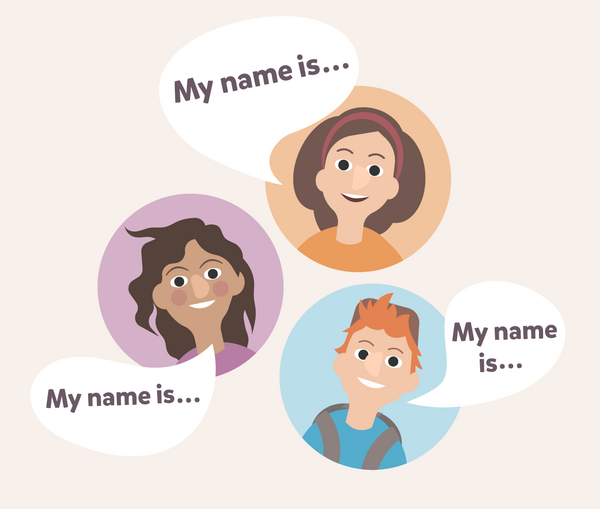 My name is - Undervisningsmateriale til engelsk indskoling