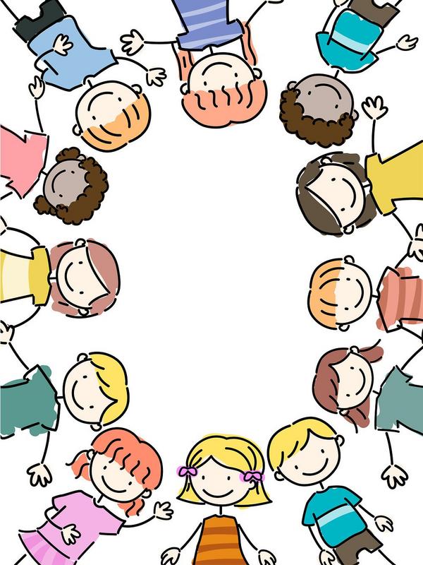 kids in a circle  Lorelyn Medina 2011 scanpix