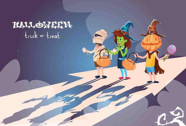 Knock Knock Halloween COLOURBOX20415146
